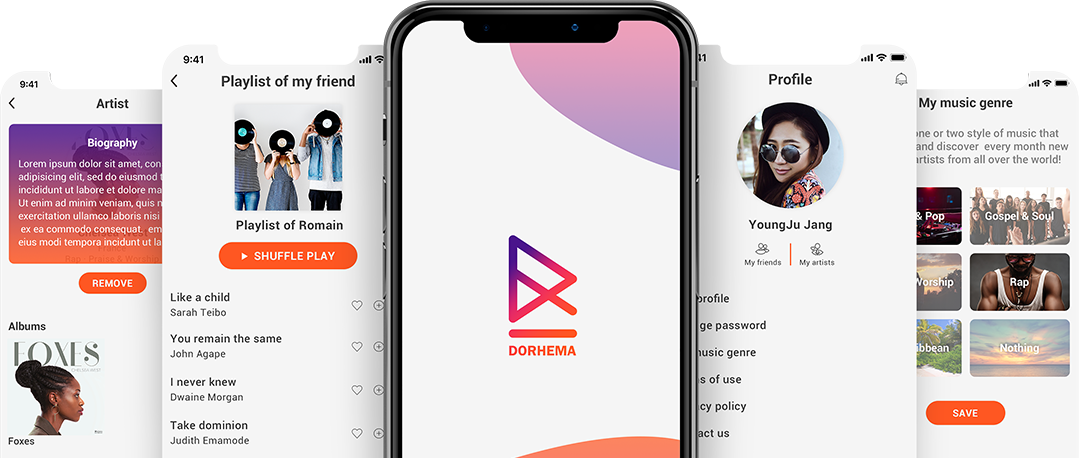 dorhema app views